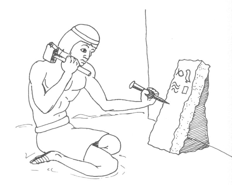 hieroglyphics alphabet coloring pages - photo#24
